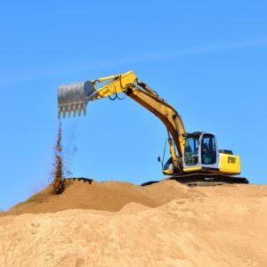 Купить песок с доставкой в Харькове. Шаровский песчаный карьер