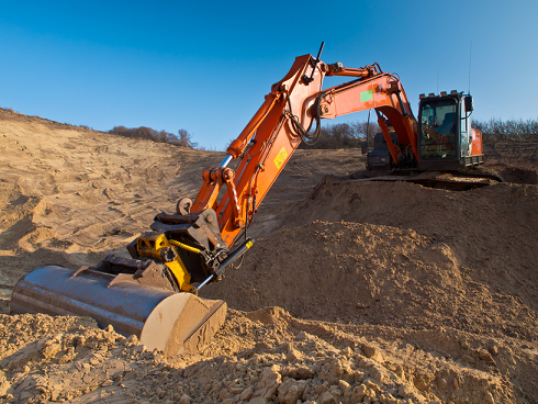 Купить песок с доставкой в Харькове. Шаровский песчаный карьер.